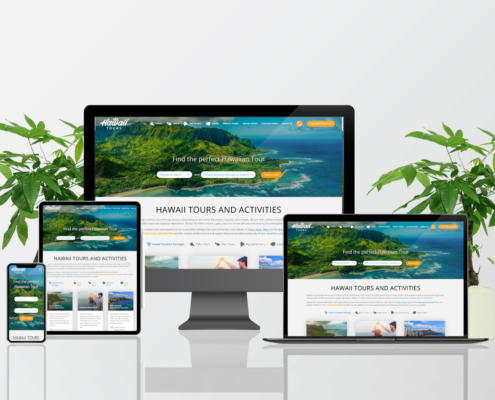 Hawaii Tours Website Design