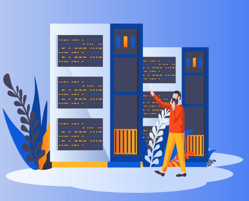Web Hosting Graphic